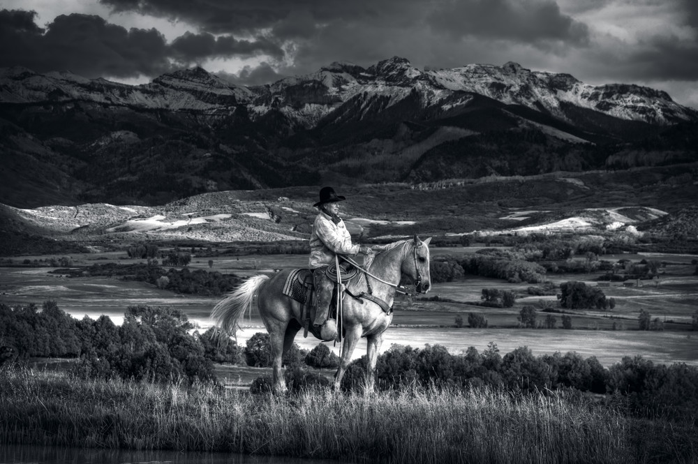 High In The Saddle Photography Art | Ken Smith Gallery
