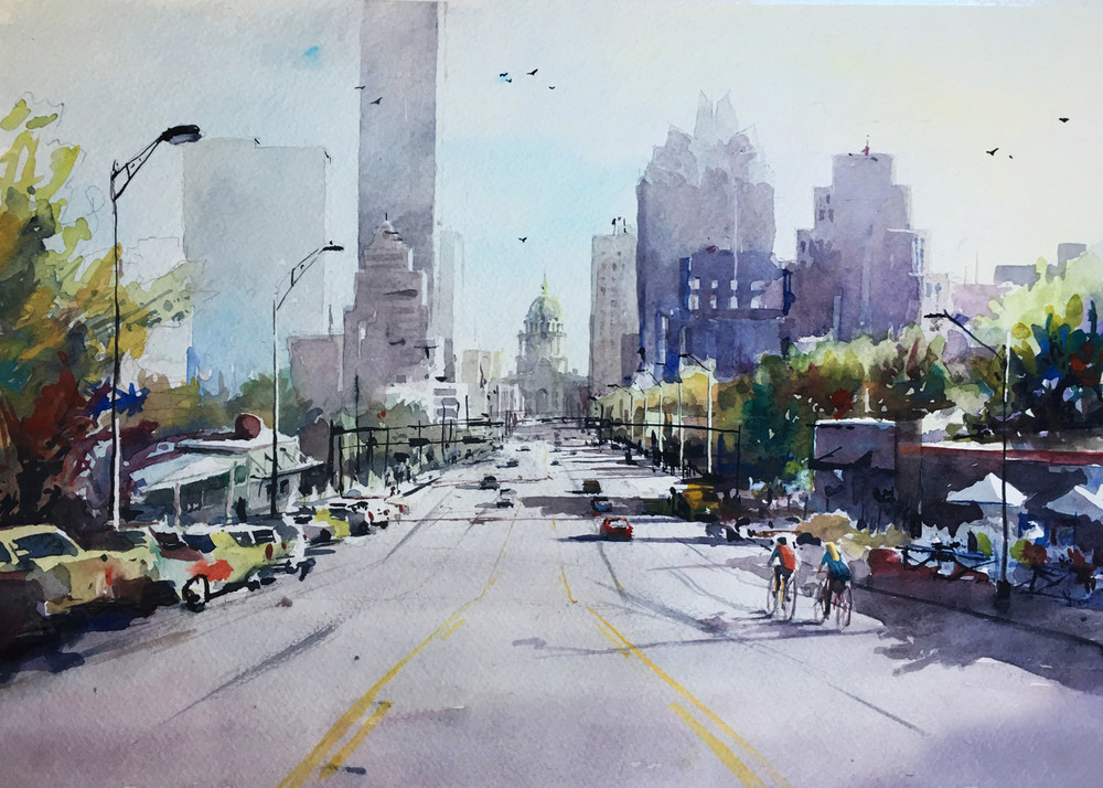 Austin   South Congress 1 Art | Steven Dragan Fine Art