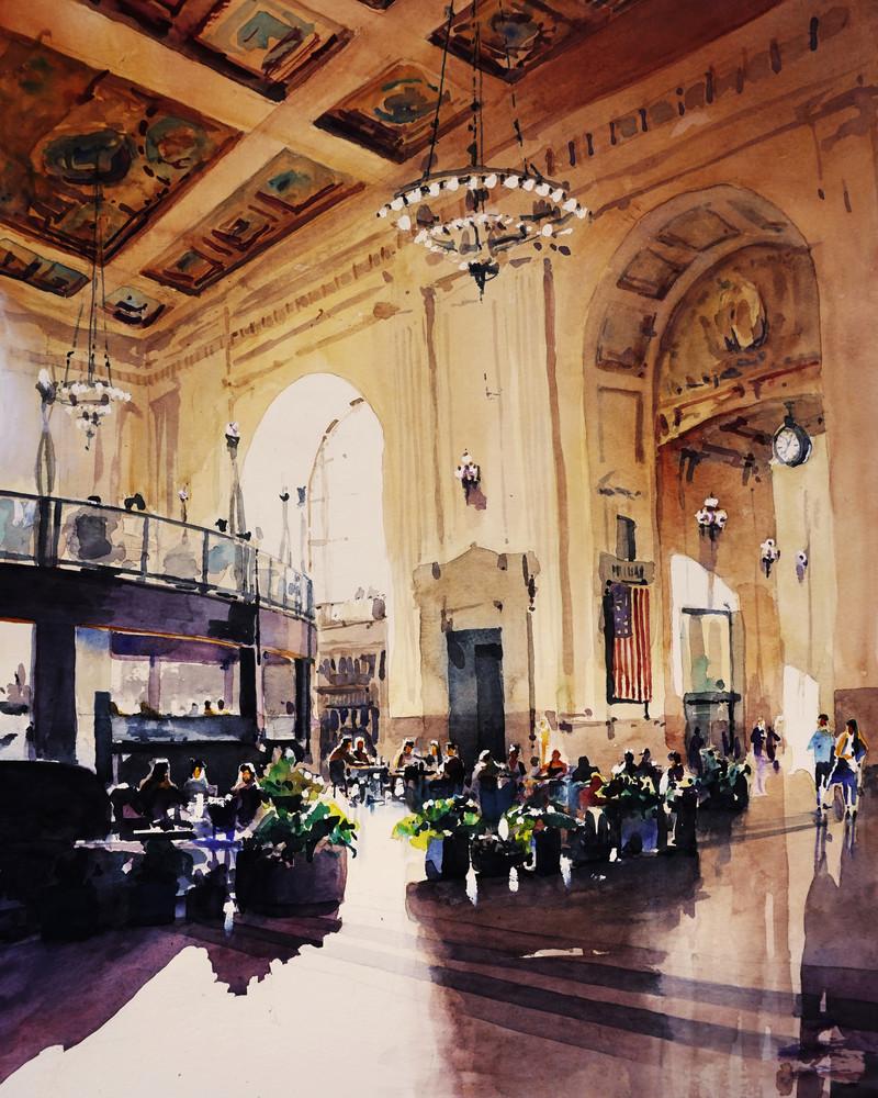 Kc Union Station Hall Art | Steven Dragan Fine Art