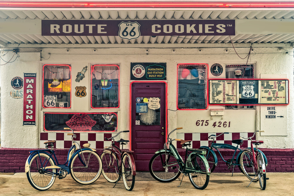 Route 66 Cookies Photography Art | Ken Smith Gallery