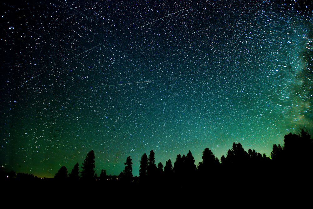Meteors Over Duck Creek Village Photography Art | Craig Primas Photography