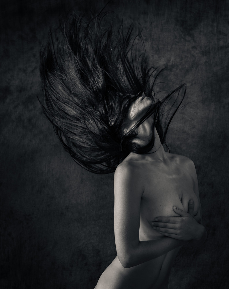 Raylene Dancing Hair V2 Photography Art | Dan Katz, Inc.