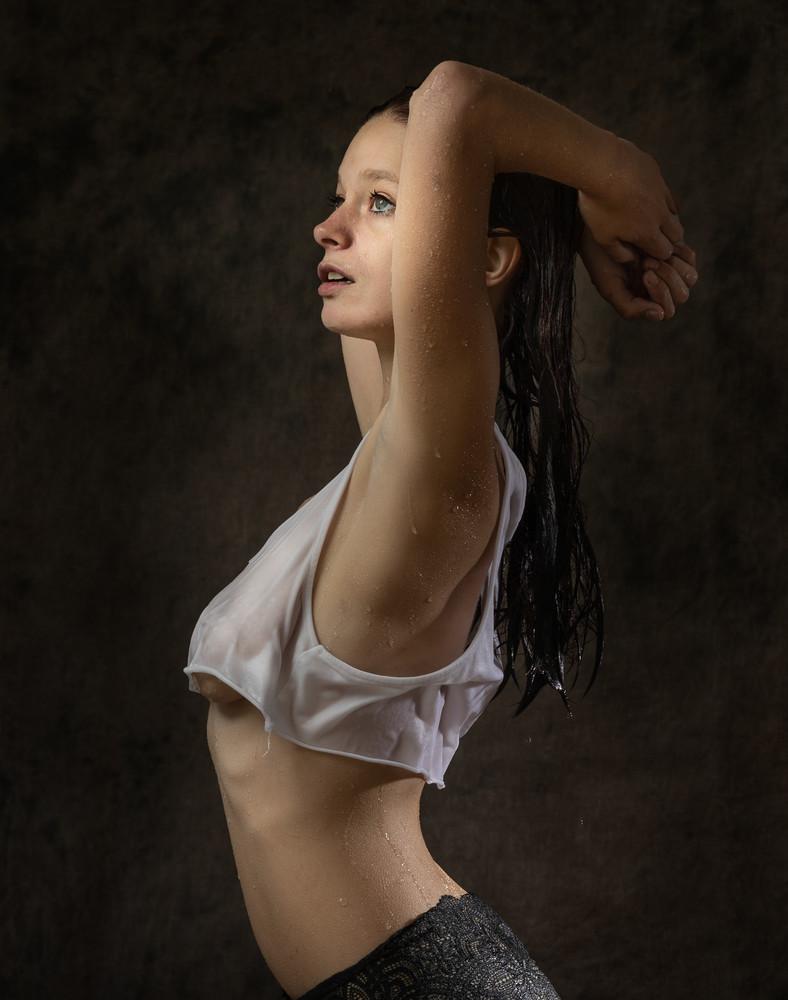 Raylene After The Pool Photography Art | Dan Katz, Inc.