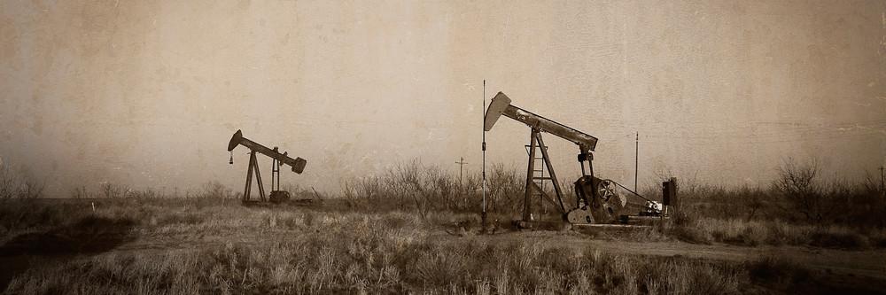 Texas Tea Semi Panorama Photography Art | Ken Smith Gallery