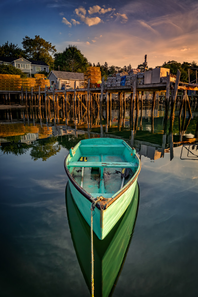 Morning in Friendship Harbor | Shop Photography by Rick Berk