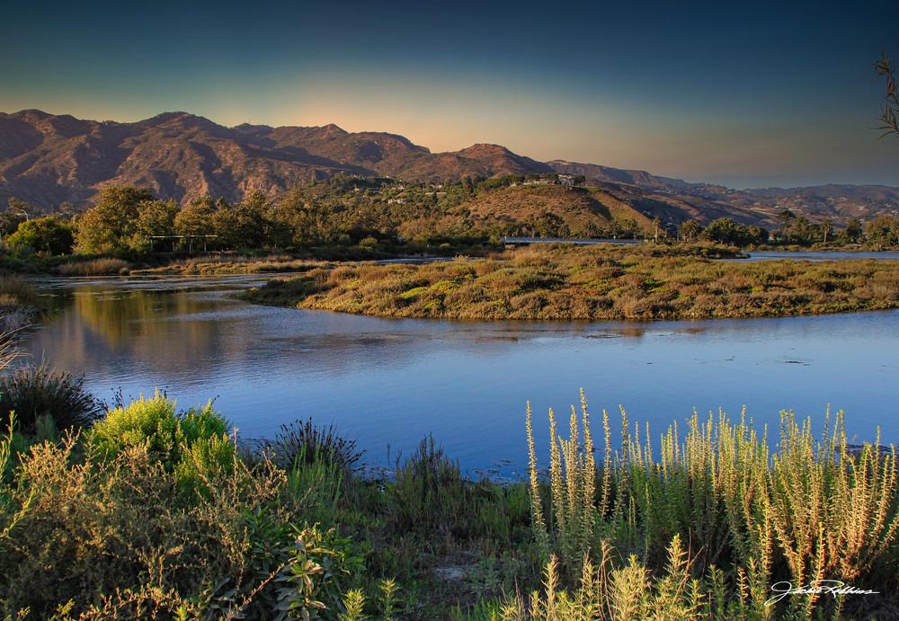 Malibu-Lagoon Magic-hour sun-setting jackie-robbins-studio photographic-prints buy-art-online