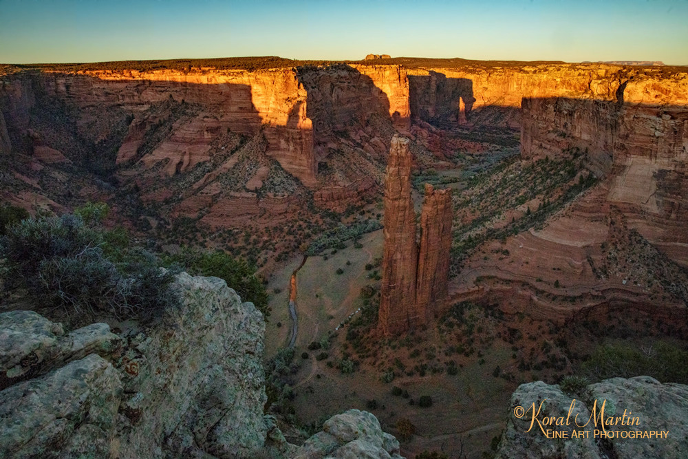 Sunset Towers Canyonde Chelly 3416  Photography Art | Koral Martin Healthcare Art