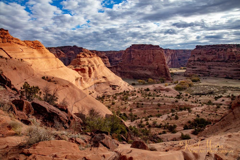 Canyon De Chelly View 3542 U 19  Photography Art | Koral Martin Healthcare Art