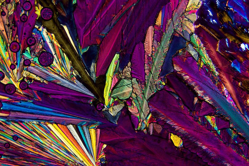 Psychedelic (Hydroquinone Crystals) Art | Carol Roullard Art