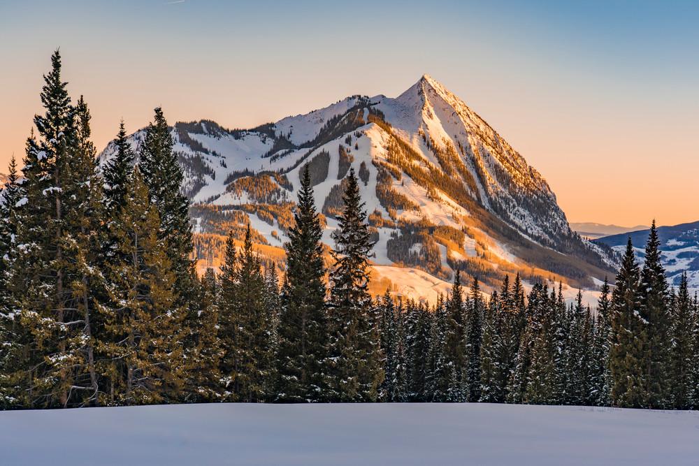Mt. Crested Butte Sunset  Photography Art | Alex Nueschaefer Photography