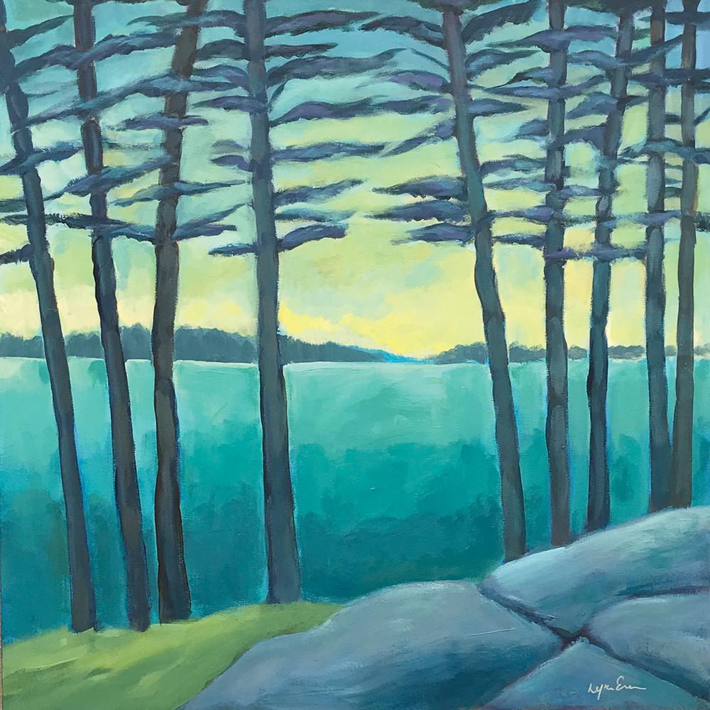 Yellow Pines Art | lynnericson-fine-art.com