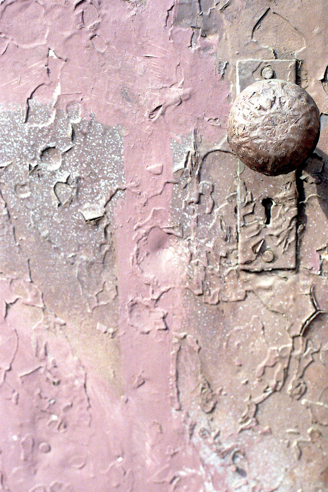 Pink Doorknob Abstract Brooklyn Photo Print – Sherry Mills