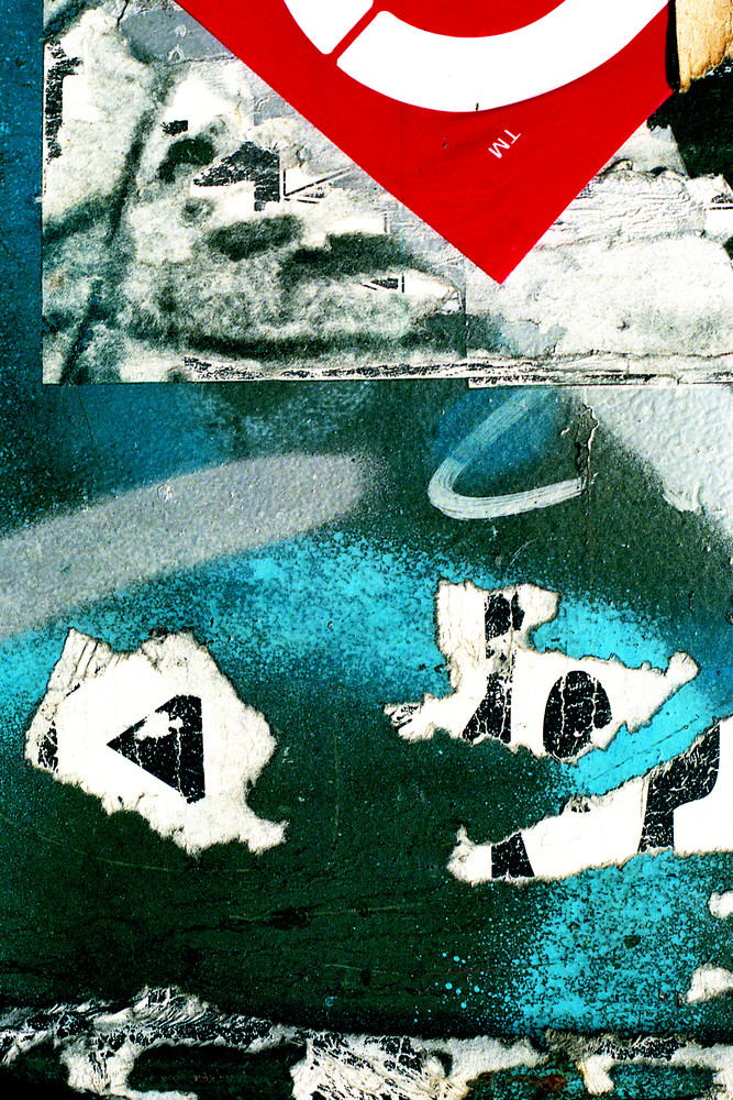 Trademark Abstract Art NYC Graffiti Print – Sherry Mills