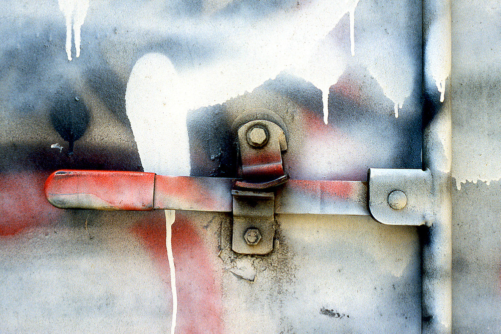 Truck Handle Abstract NYC Graffiti Print – Sherry Mills