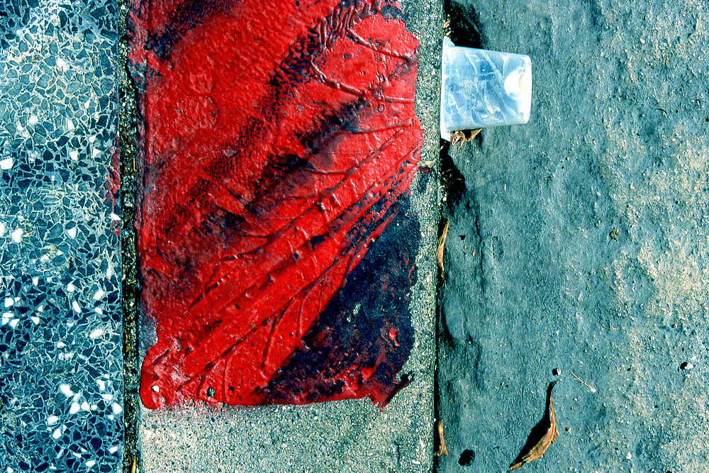 Hollywood Boulevard Abstract Red Fine Art – Sherry Mills