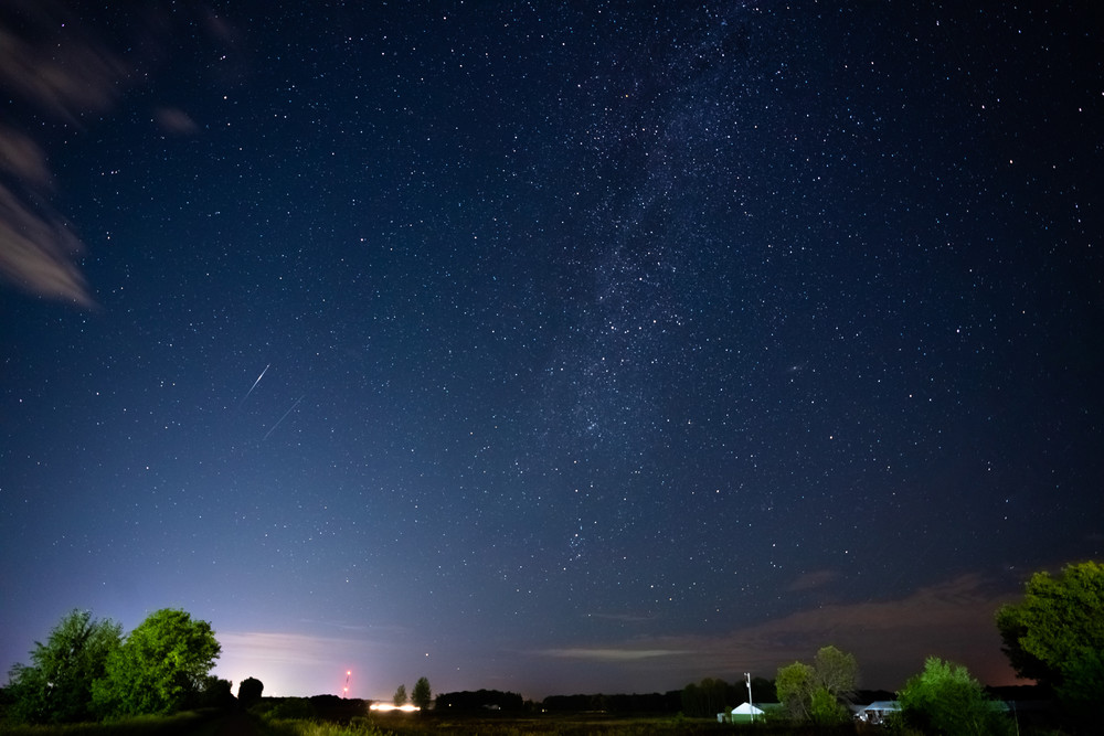 Perseids And Andromeda Photography Art | William Drew Photography