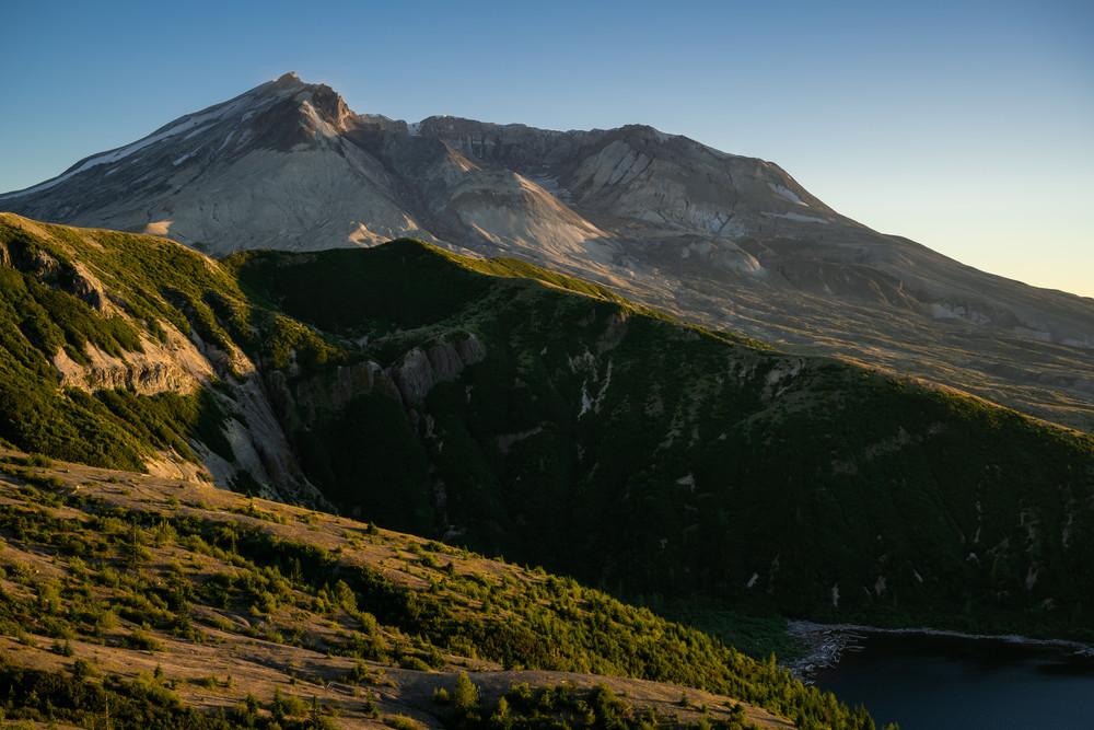 Summer Evening Glow, Mt. St. Helens, Washington, 2020