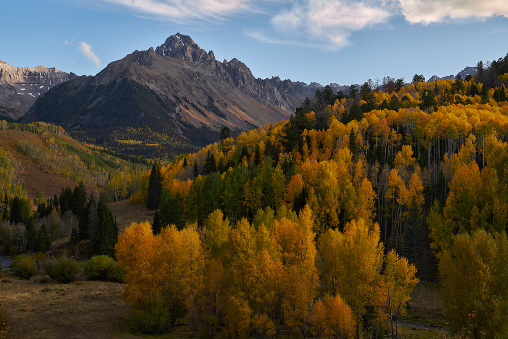 Fall Evening at Mt Sneffels