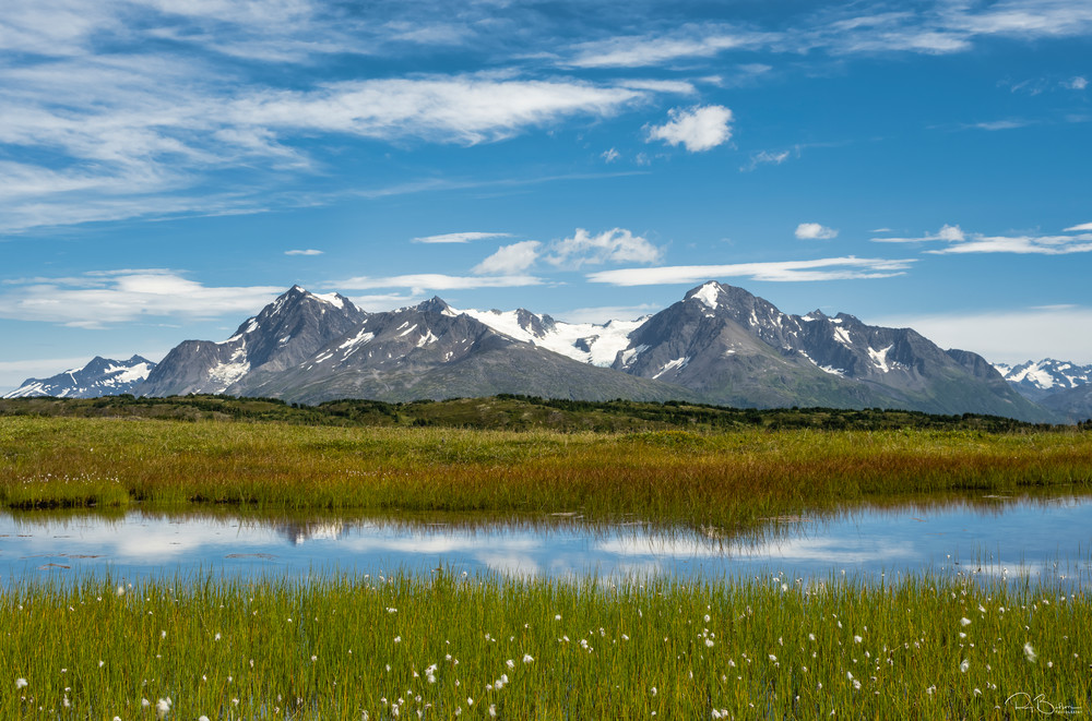 Alpine pond in Alaska.