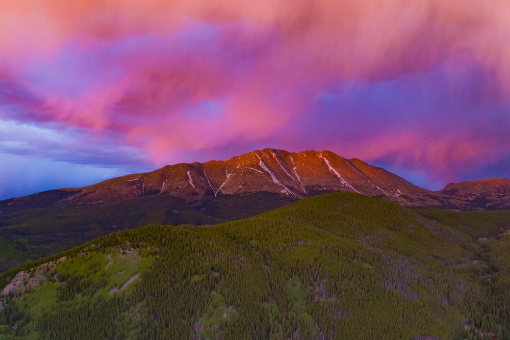 Mt. Baldy Sunset  Photography Art | Alex Nueschaefer Photography
