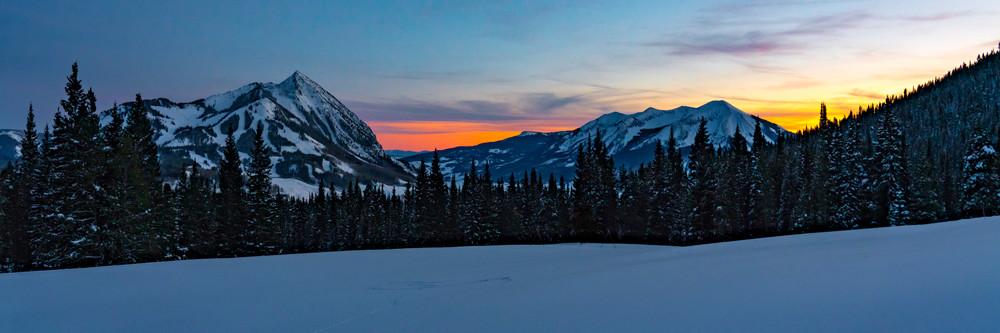 Crested Butte Sunset Photography Art | Alex Nueschaefer Photography