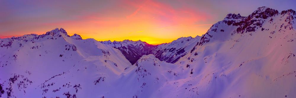 Ophir Pass Sunset  Photography Art | Alex Nueschaefer Photography