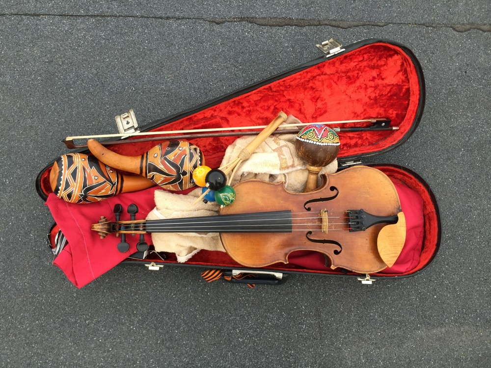 My Uncle's Violin Art | Romanova Art
