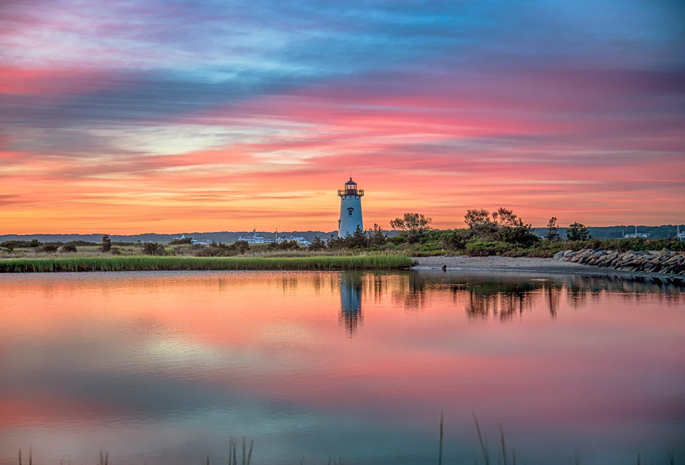 Edgartown Light Magenta Summer Morning Art | Michael Blanchard Inspirational Photography - Crossroads Gallery