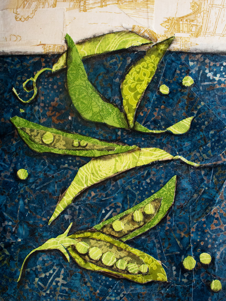 Peas Print Art | Sharon Tesser LLC