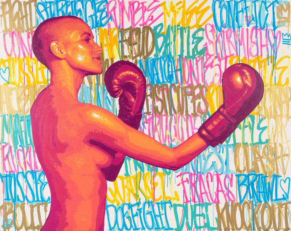 Knockout Print Art | Todd Monk Art