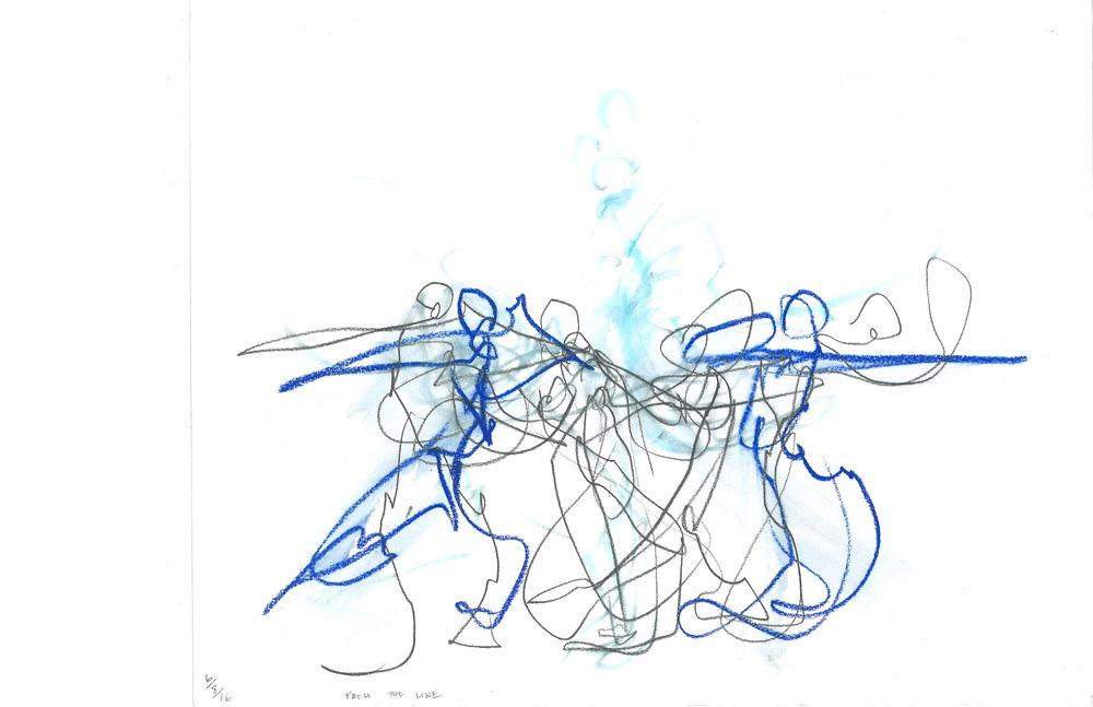 From The Line (Merge), 2016 Art | larahanson