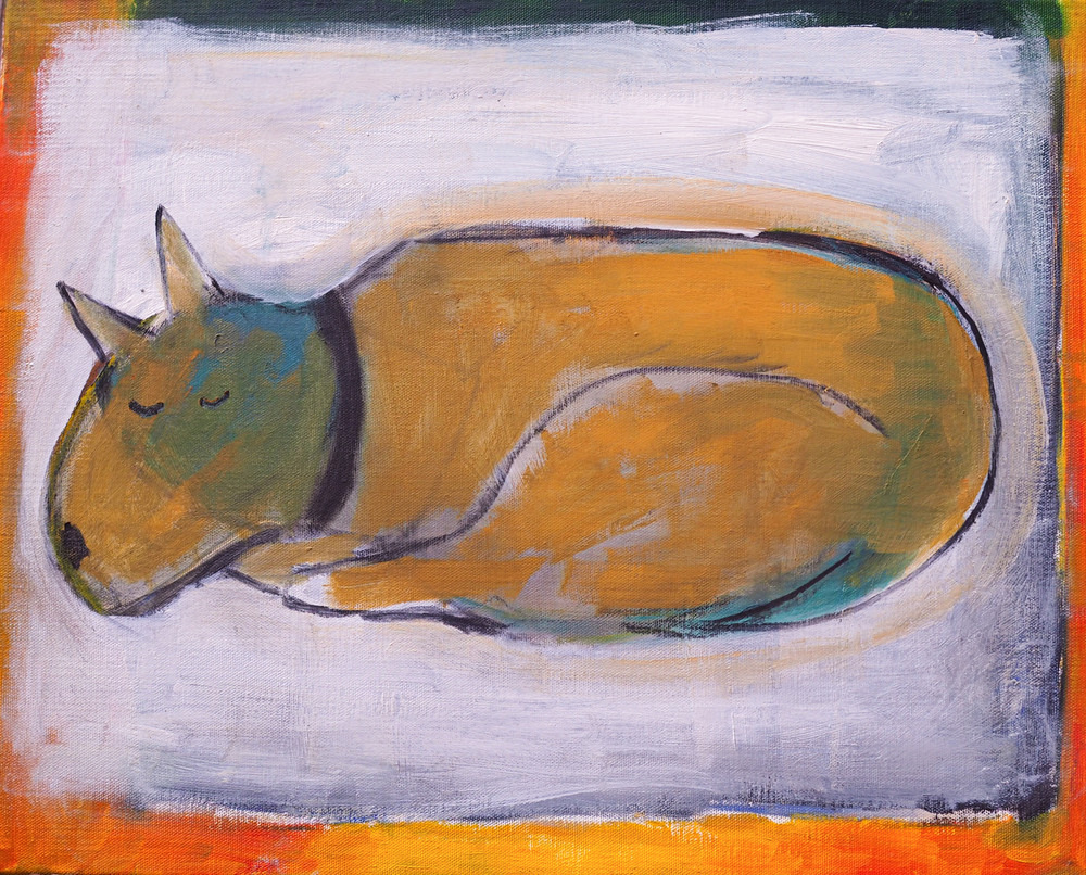 Sleeping Dog Art | stephengerstman