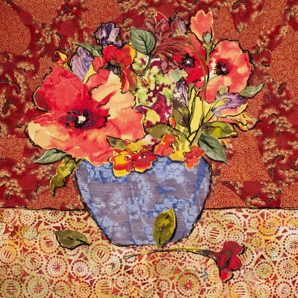 Blue Vase Still Life Print Art | Sharon Tesser LLC