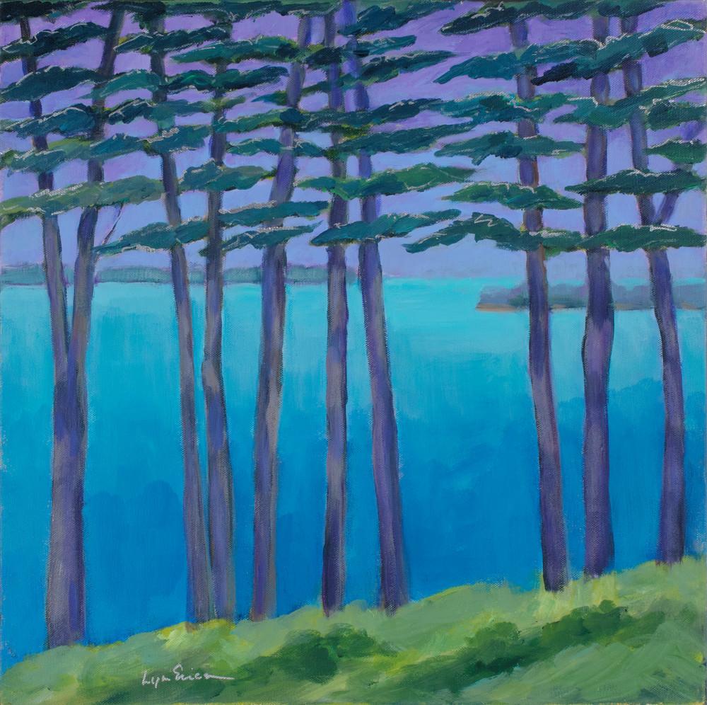 Purple Pines Art | lynnericson-fine-art.com