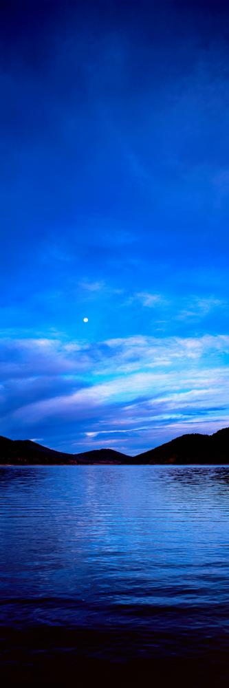 Navajo Lake Moonset Photography Art | Craig Primas Photography