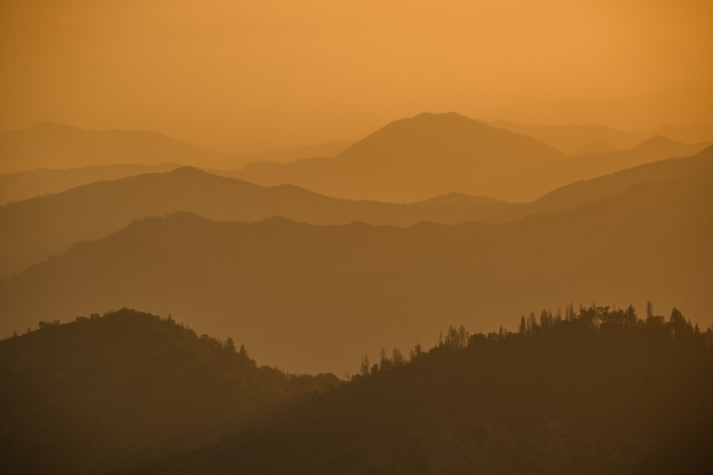 Moro Rock View  Sequoia National Park Photography Art | Casey McFarland Photography