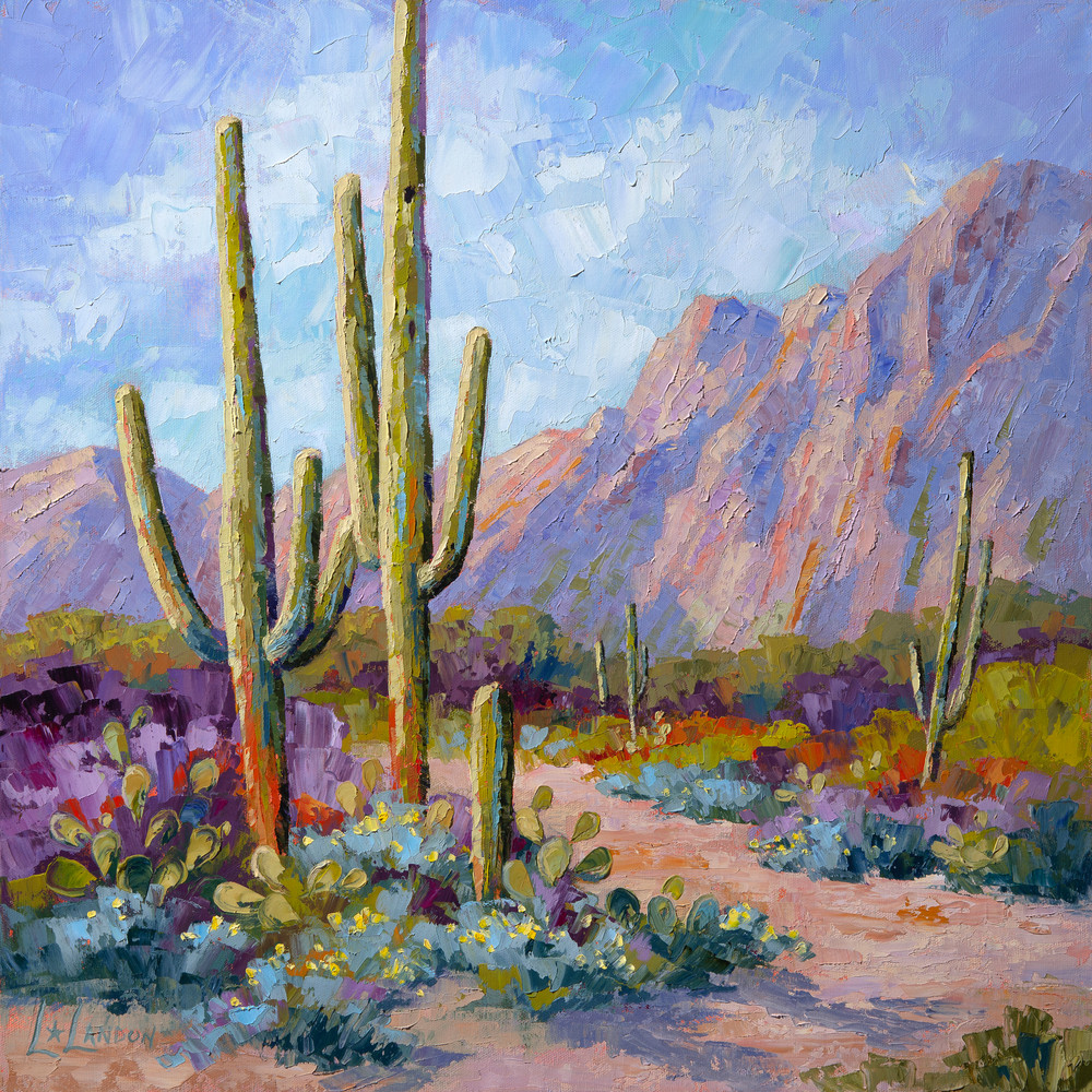 Call Of The Desert  Art | Linda Star Landon Fine Art