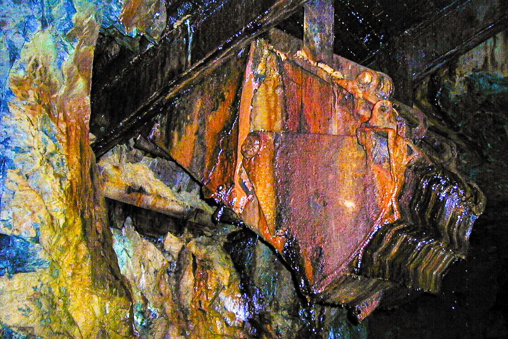 Abandoned Gold Chute Scoop Silverton Co Photography Art | Hatch Photo Artistry LLC