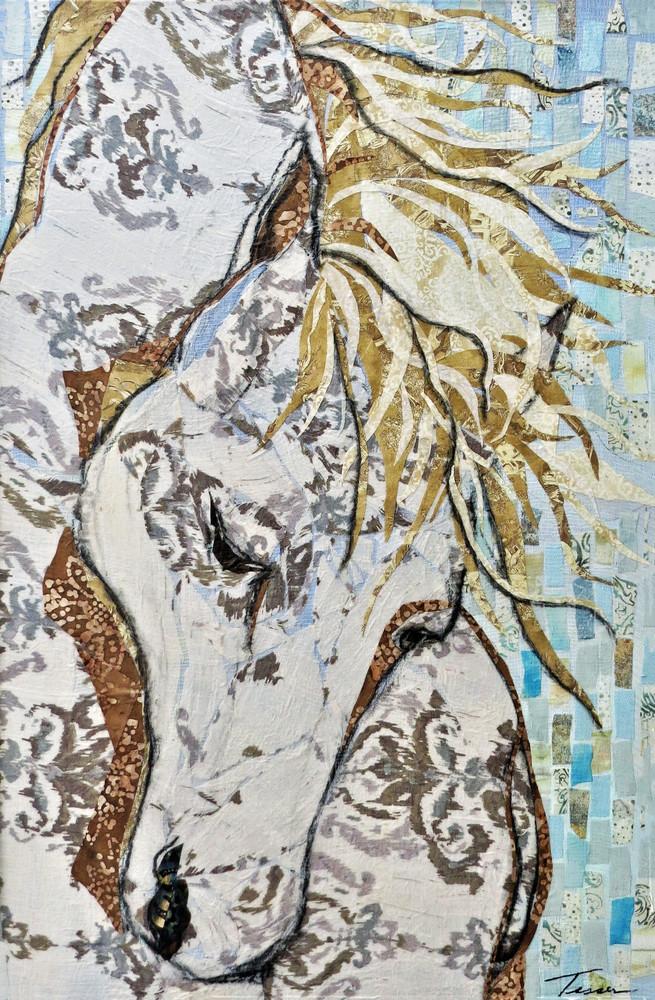 Horse Print Art | Sharon Tesser LLC