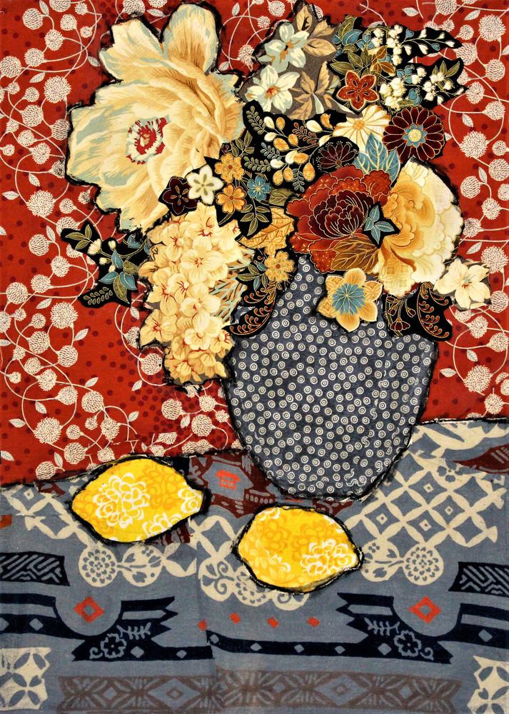 Lemon Still Life Print Art | Sharon Tesser LLC