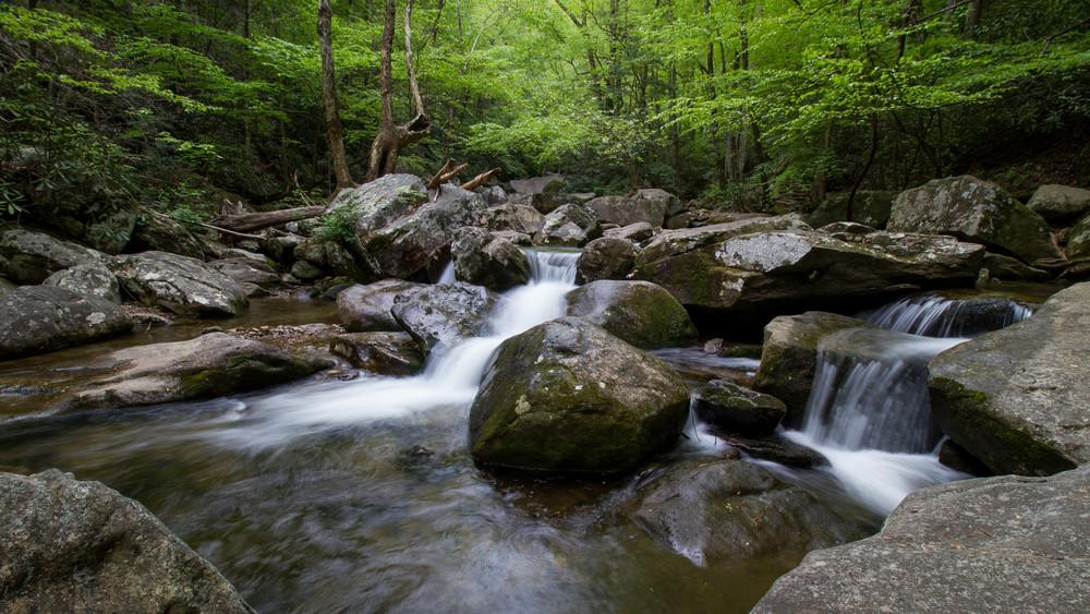 South Mountain Cascade Photography Art | Matt Cuda Nature Photography