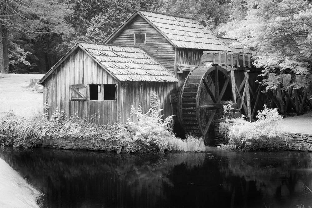 Mabry Mill Photography Art | Matt Cuda Nature Photography