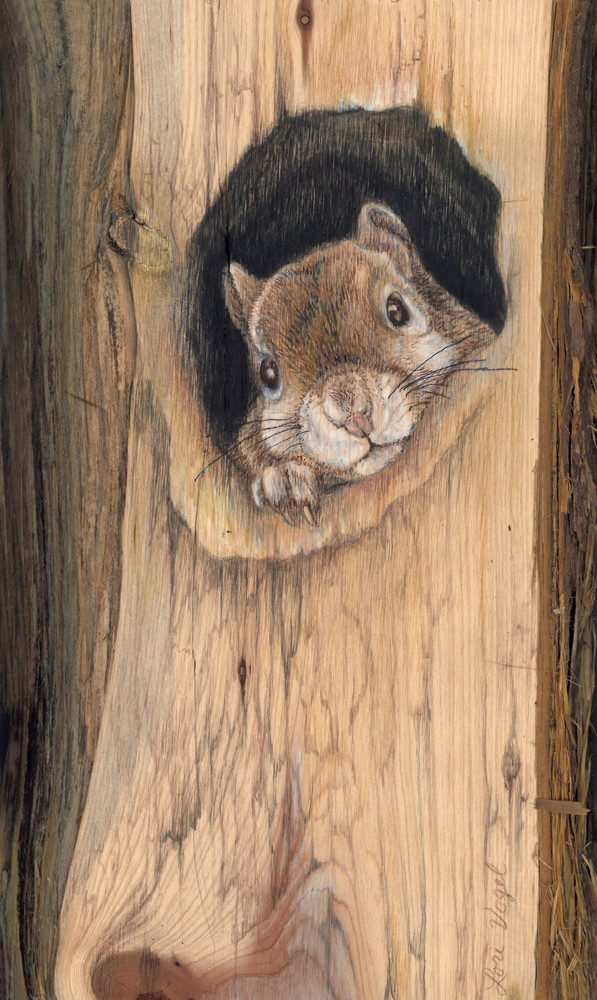 Can I Come Out Now? Art   Lori Vogel Studio