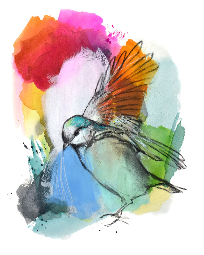 Either Fly Or Float Art | Jen Singh Creatively