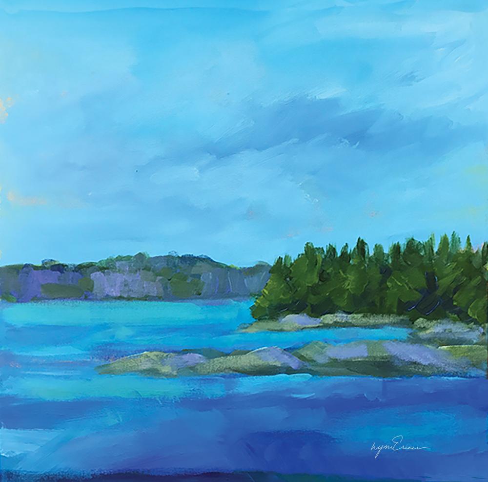 Blue Cove Art | lynnericson-fine-art.com