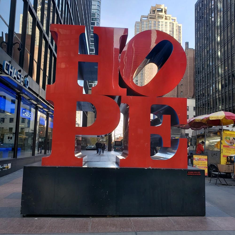 Hope Sculpture Manhattan  Photography Art   Photoissimo - Fine Art Photography