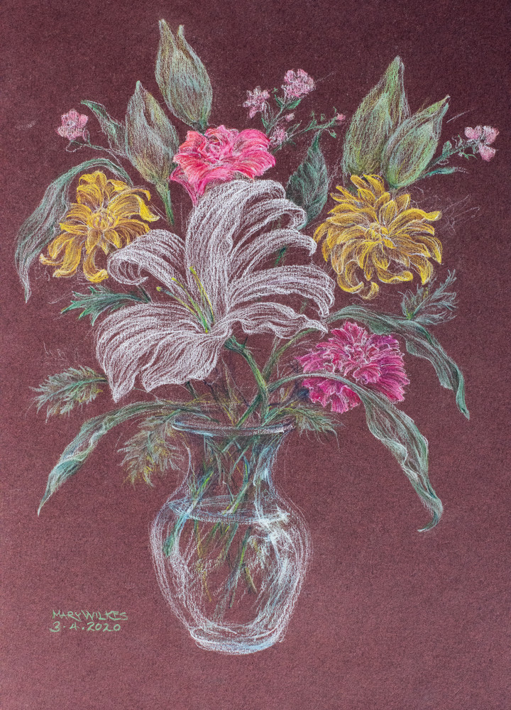 Floral, Pastel, March 2020 Art | Roost Studios, Inc.