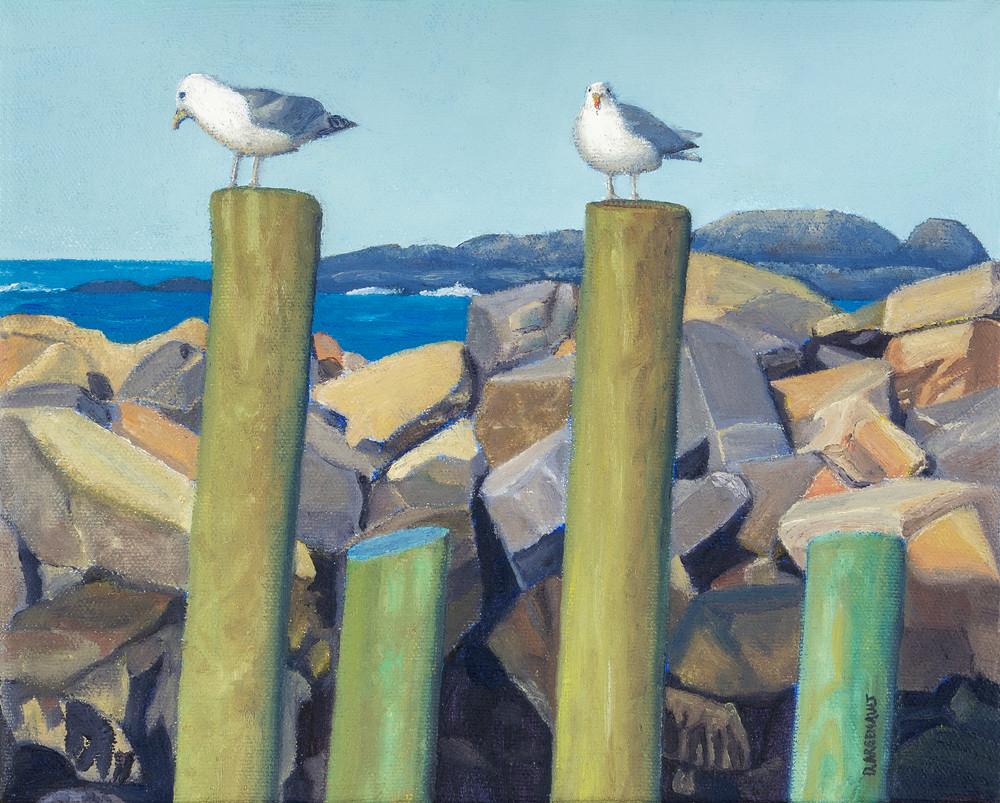 Pier Pair Art | The Art of David Arsenault