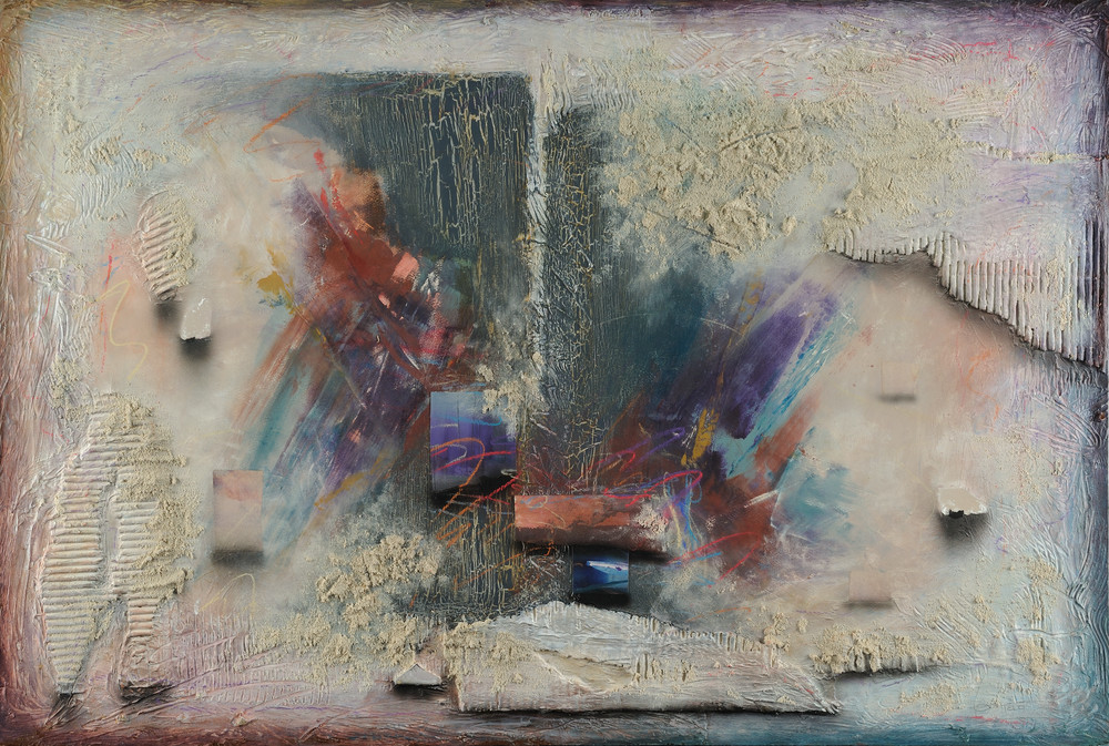Fresco Nuevo 1  (Print) Art   Laurie Fields Studio