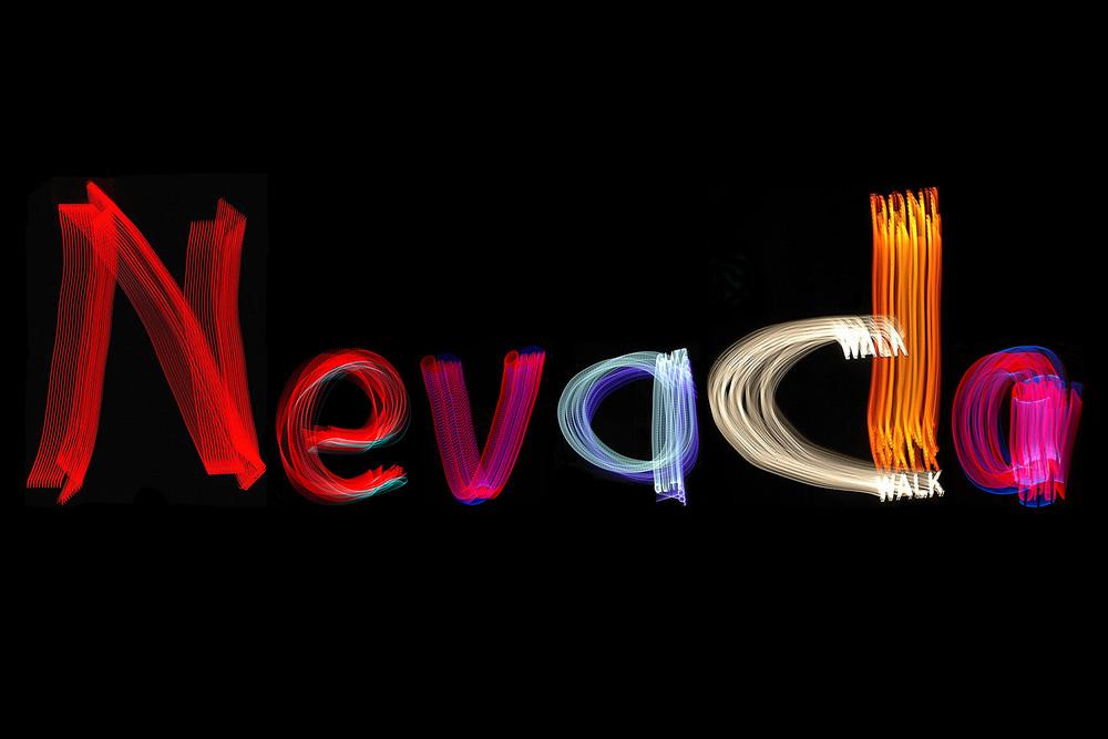 Nevada Light Painting Photography Art | David Louis Klein